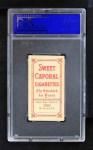 1909 T206 BAT Vic Willis  Back Thumbnail