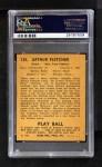 1940 Play Ball #125  Art Fletcher  Back Thumbnail