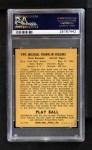 1940 Play Ball #199  Pinky Higgins  Back Thumbnail