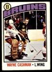 1976 O-Pee-Chee NHL #165  Wayne Cashman  Front Thumbnail