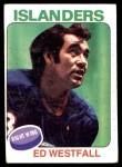 1975 Topps #302  Ed Westfall   Front Thumbnail