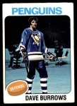 1975 Topps #186  Dave Burrows   Front Thumbnail