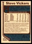 1977 O-Pee-Chee #136  Steve Vickers  Back Thumbnail