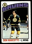 1976 Topps #234  Don Marcotte  Front Thumbnail