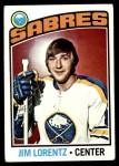 1976 Topps #162  Jim Lorentz  Front Thumbnail