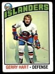 1976 Topps #77  Gerry Hart  Front Thumbnail