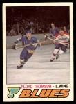 1977 O-Pee-Chee #358  Floyd Thomson  Front Thumbnail