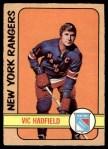 1972 O-Pee-Chee #31  Vic Hadfield  Front Thumbnail