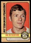 1972 O-Pee-Chee #15  Jim Rutherford  Front Thumbnail