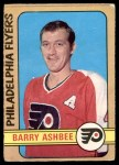 1972 O-Pee-Chee #206  Barry Ashbee  Front Thumbnail
