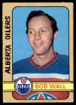 1972 O-Pee-Chee #323  Bob Wall  Front Thumbnail
