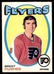 1971 O-Pee-Chee #205  Brent Hughes  Front Thumbnail