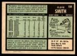 1971 O-Pee-Chee #158  Floyd Smith  Back Thumbnail