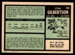1971 O-Pee-Chee #183  Stan Gilbertson  Back Thumbnail