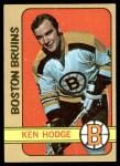 1972 Topps #166  Ken Hodge  Front Thumbnail