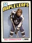 1976 O-Pee-Chee NHL #358  Inge Hammarstrom  Front Thumbnail