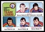 1975 Topps #319   -  Simon Nolet / Guy Charron / Wilf Paiement Scouts Leaders Front Thumbnail
