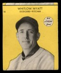 1941 Goudey #18 YEL Whitlow Wyatt  Front Thumbnail
