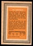 1972 O-Pee-Chee Team Canada #13  Vic Hadfield  Back Thumbnail
