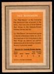 1972 O-Pee-Chee Team Canada #2  Red Berenson  Back Thumbnail