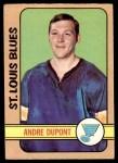 1972 O-Pee-Chee #16  Andre Dupont  Front Thumbnail