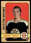 1972 O-Pee-Chee #191  Garnet Bailey  Front Thumbnail