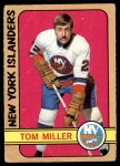 1972 O-Pee-Chee #32  Tom Miller  Front Thumbnail