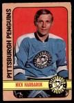 1972 O-Pee-Chee #106  Nick Harbaruk  Front Thumbnail