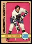 1972 O-Pee-Chee #37  Jocelyn Guevremont  Front Thumbnail