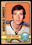 1972 O-Pee-Chee #22  Gerry Meehan  Front Thumbnail