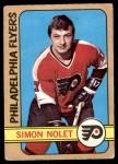 1972 O-Pee-Chee #125  Simon Nolet  Front Thumbnail
