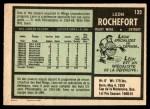 1971 O-Pee-Chee #135  Leon Rochefort  Back Thumbnail