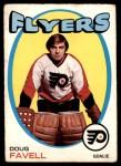 1971 O-Pee-Chee #72  Doug Favell  Front Thumbnail