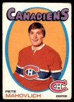 1971 O-Pee-Chee #84  Peter Mahovlich  Front Thumbnail
