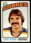 1976 O-Pee-Chee NHL #27  Jerry Korab  Front Thumbnail