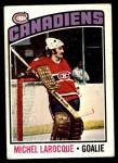 1976 O-Pee-Chee NHL #79  Michel Larocque  Front Thumbnail