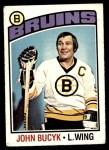 1976 O-Pee-Chee NHL #95  Johnny Bucyk  Front Thumbnail