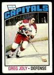 1976 Topps #52  Greg Joly  Front Thumbnail