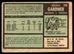 1971 O-Pee-Chee #235  George Gardner  Back Thumbnail