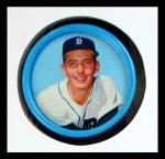 1963 Salada Metal Coins #32  Hank Aguirre  Front Thumbnail