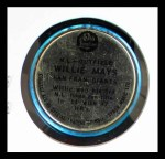 1965 Old London Coins #14  Willie Mays  Back Thumbnail