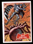 1966 Topps Batman Red Bat #18 RED  Death Spins a Web Front Thumbnail