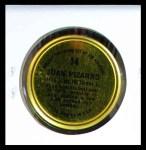 1964 Topps Coins #14   Juan Pizarro   Back Thumbnail
