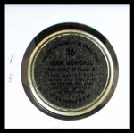1964 Topps Coins #36   Juan Marichal   Back Thumbnail