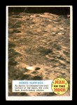 1970 Topps Man on the Moon #30 A  Moon Surface Front Thumbnail