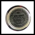 1964 Topps Coins #43   Jesse Gonder   Back Thumbnail
