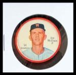 1962 Salada Coins #54  Joe McClain  Front Thumbnail
