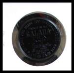 1962 Salada Coins #119  Carl Sawatski  Back Thumbnail