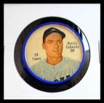 1962 Salada Coins #28  Rocky Colavito  Front Thumbnail