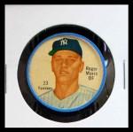 1962 Salada Coins #23  Roger Maris  Front Thumbnail